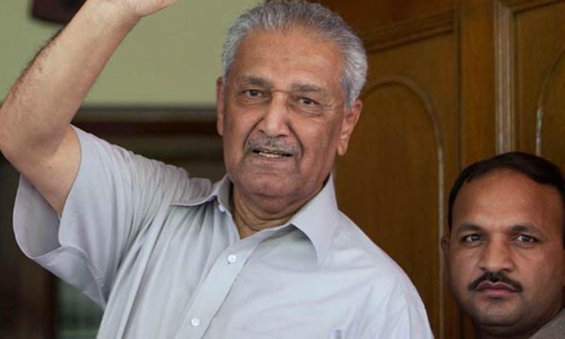 ڈاکٹر عبدالقدیر کے انتقال پر صدر، وزیراعظم و دیگر رہنماؤں کا اظہار تعزیت