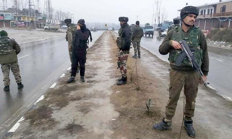 فوج نے ریاستی دہشت گردی کی تازہ کارروائی میں مزید 2 کشمیری نوجوانوں کو شہید کردیا — فائل فوٹو / اے پی