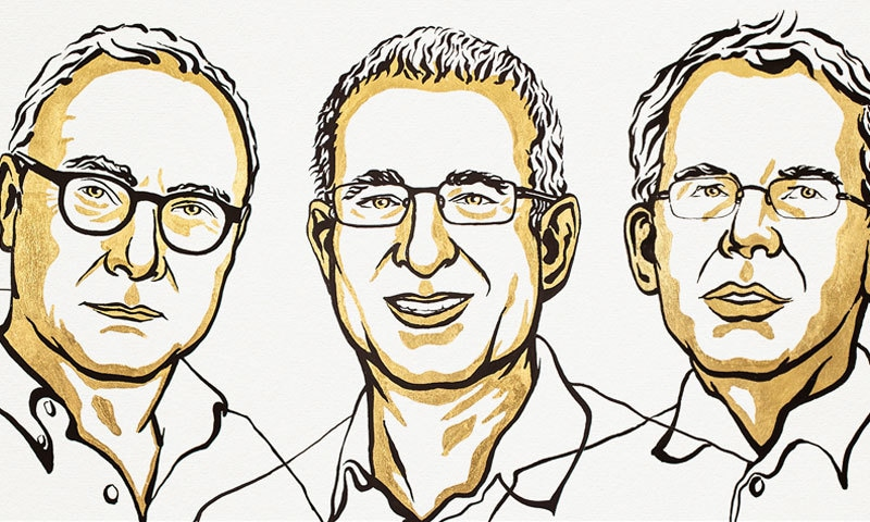 اقتصادیات کا نوبیل انعام تین ماہرین کے نام
