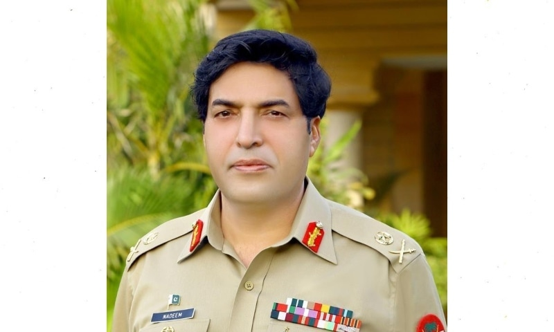 New ISI chief Lt Gen Nadeem Anjum. — Photo courtesy: ISPR