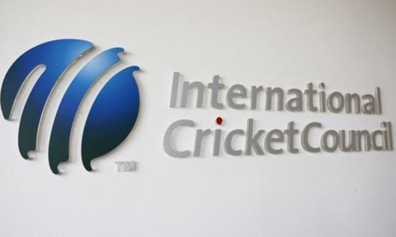 The International Cricket Council (ICC) logo at the ICC headquarters in Dubai, October 31, 2010. — Reuters/File