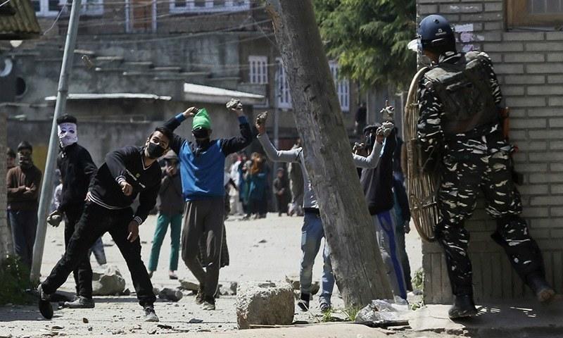 مقبوضہ کشمیر: بھارتی فورسز کی کارروائی میں مزید 5 کشمیری جاں بحق