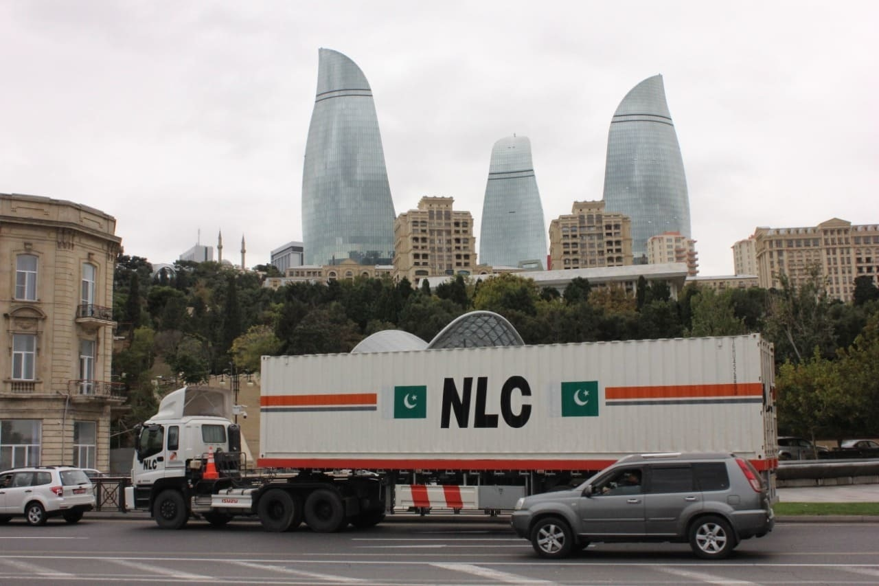 The NLC's first road movement received an overwhelming response from the government and business communities of both Turkey and Azerbaijan. — Dawn