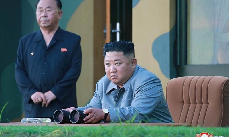 دوران تقریر کِم جونگ اُن نے اس بات پر زور دیا کہ ان کی فوج کا ہدف جنوبی کوریا نہیں ہے— فائل فوٹو/رائٹرز