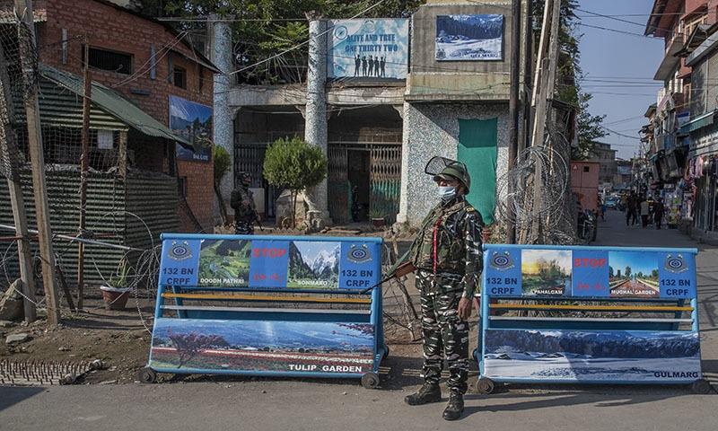 Five men killed in occupied Kashmir