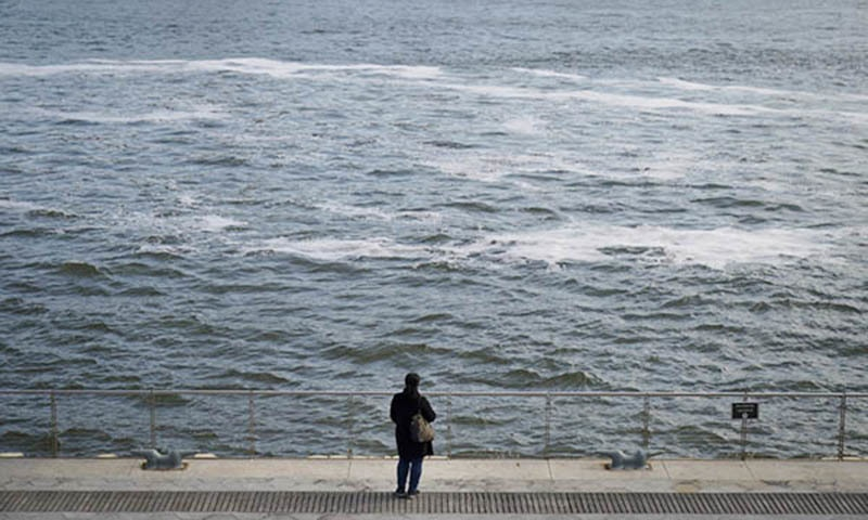 When global warming stops, seas will still rise