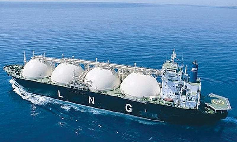 A file photo of a LNG cargo ship. — Dawn/file