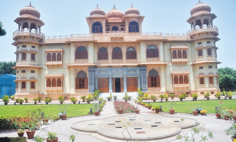 A view of Mohatta Palace. — White Star