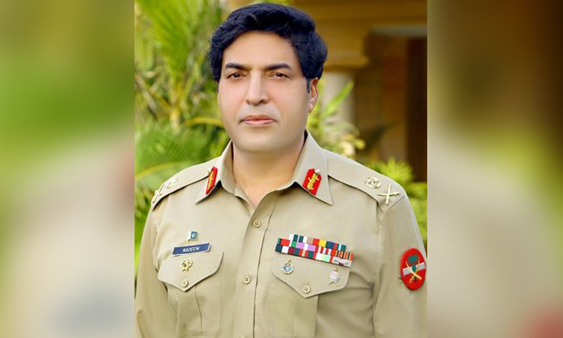 A file picture of Lt Gen Nadeem Ahmed Anjum, the new director-general of the Inter-Services Intelligence (ISI). —  DawnNewsTV