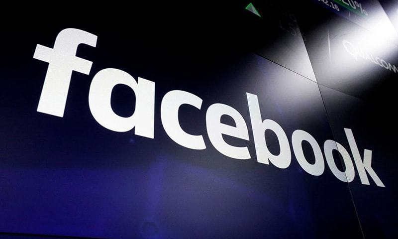 In this file photo, the logo for social media giant Facebook, appears on screens at the Nasdaq MarketSite, in New York's Times Square. — AP/File Photo