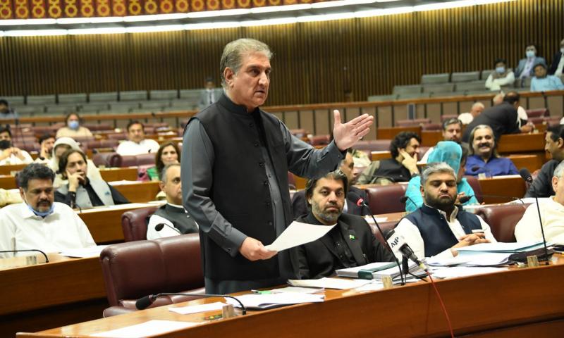 قومی اسمبلی میں ڈاکٹر عبدالقدیر خان کو خراج عقیدت پیش کرنے کی مشترکہ قرارداد متفقہ طور پر منظور کر لی گئی— فائل فوٹو: ڈان نیوز
