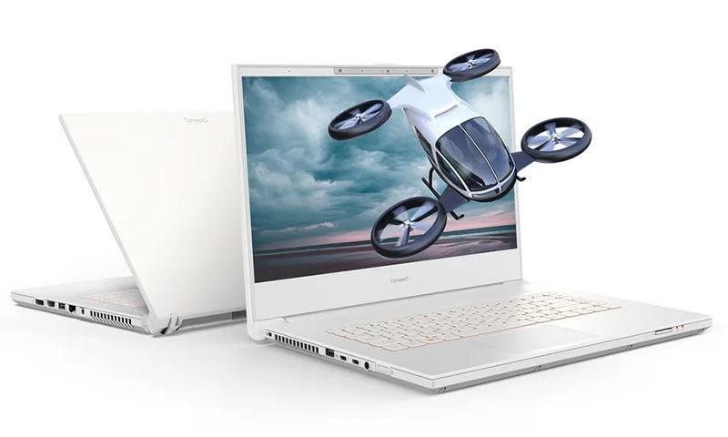 یہ کانسیپٹ لیپ ٹاپ تھری ڈی مواد ڈسپلے کرسکتا ہے — فوٹو بشکریہ ایسر