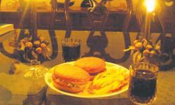 Culture shock: Dinner in the dark