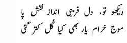 COMMENT: A commentary on Ghalib's 'rejected' verses