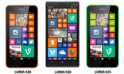 Nokia Lumia 630, 635 and Flagship model Lumia 930 announced