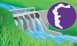 Hydropower potential in Azad Kashmir
