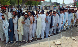 Sit-ins shift govt attention away from IDPs' misery