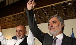 افغان صدر اشرف غنی اور چیف ایگزیکٹیو عبداللہ نے حلف اٹھا لیا