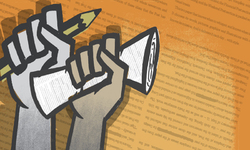 خطروں کے سائے تلے صحافت