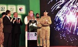 Besides defence, govt equally mindful of poverty, illiteracy: Sharif