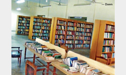 Library without facilities