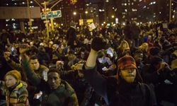 200 held in NY as race protests spread to 11 cities