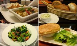 Citrus restaurant: Global menu, with an odd local twist