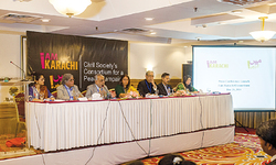 Civil society consortium formed for peace