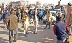 Khasadar personnel baton-charge IDPs