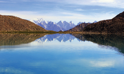 Ghanche Lake a place offers fascinating view points of 8,000-metre peaks