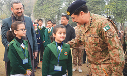 Undeterred by terror, students return to Peshawar school