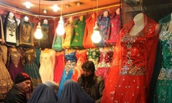 Afghan dress designers do a roaring business in Peshawar