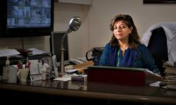 Adrenaline rush: Dr Jamali holds her own when all is chaos