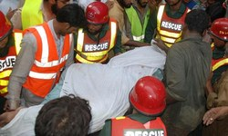 Road accident claims six lives in Karak