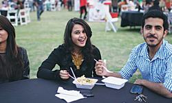 Food festival opens at Frere Hall