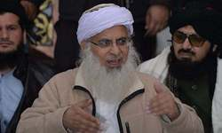 Maulana Aziz delivers another Friday sermon over the phone