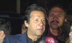 I'm waiting to face Iftikhar Chaudhry in court: Imran Khan