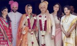 سوہا علی خان اور کنال کیمو شادی کے بندھن میں بندھ گئے