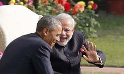 From cold shoulder to hugs: Obama and Modi's unlikely friendship