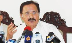Fahim rejects media reports of differences with Zardari