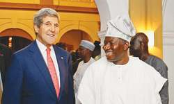 Boko Haram wages new attacks as Kerry visits Nigeria