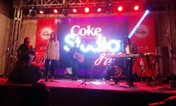 Upcoming talent on Coke Studio platform
