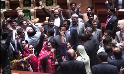 MQM walks out of Sindh Assembly during CM's address