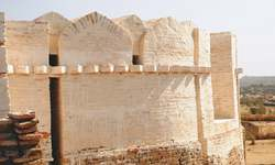 Conservation work at rain-ravaged Naukot fort completed