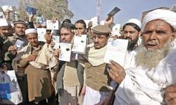 Afghans seek renewal of documents
