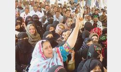 Teachers stage sit-in outside MPA's residence in Jacobabad