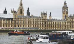 50 years after funeral, Churchill towers over UK politicians