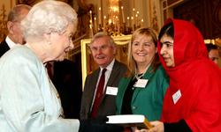 ملالہ برطانیہ کی متاثرکن شخصیات میں شامل