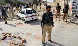 Rocket attack kills two policemen in Balochistan