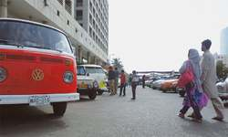 Volkswagen show attracts many vehicles and fans